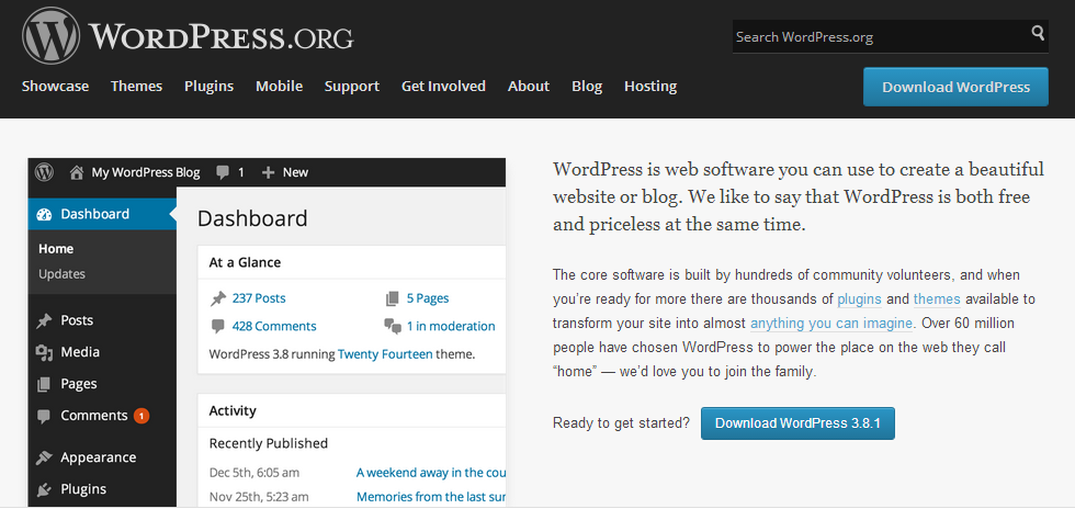 Install WordPress on a hosted server or local on a computer – how to (tutorial)